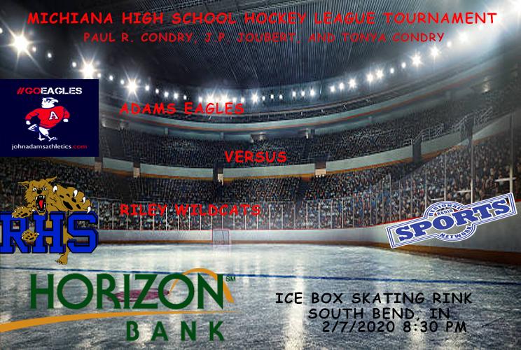 Game #3 of the 2020 Michiana High School Hockey League Tournament